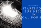 Starting a Business in california